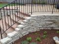 Brick, Stone, Concrete Landing